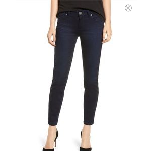 Paige Horton Ankle Skinny Jeans Dark Wash Sz 28
